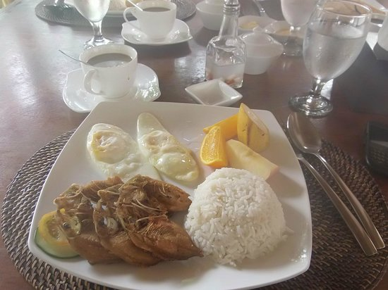 Sunz En Coron Resort: Try their marinated danggit, for your breakfast..superb!.and take note: with unlimited coffee