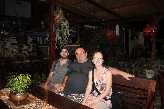 Villa Sumbing Indah: Nous et Christophe