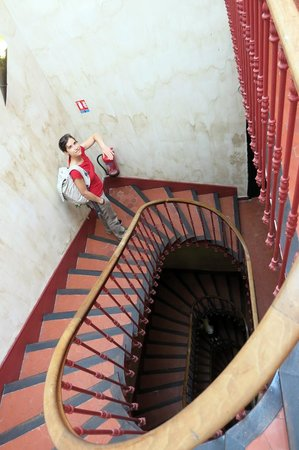 Le Ryad Boutique Hotel: Treppe (kein Lift)