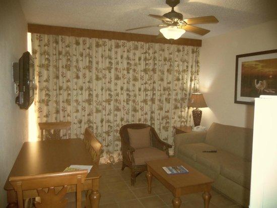 La Cabana Beach Resort & Casino: Sitting room