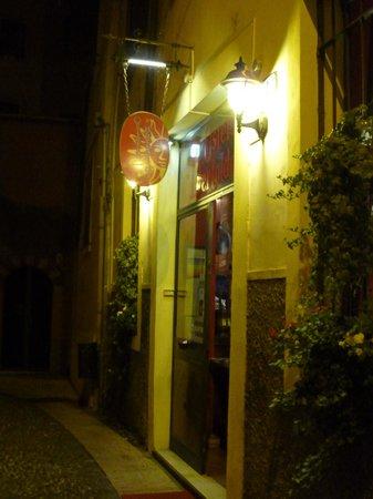 Osteria Il Bertoldo: 店の看板