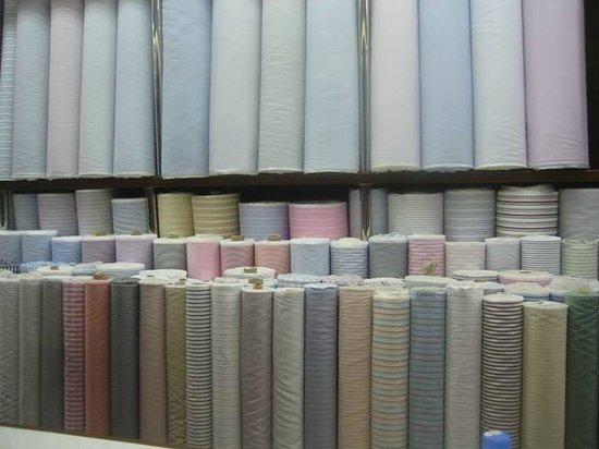 Rajawongse Clothier : fabric for dress shirts - hard to choose!