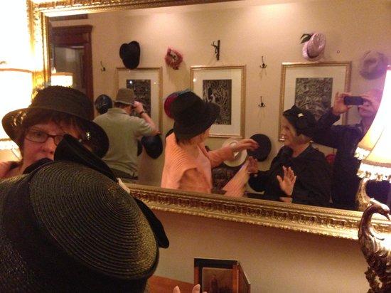 Baker House: Hats all fun