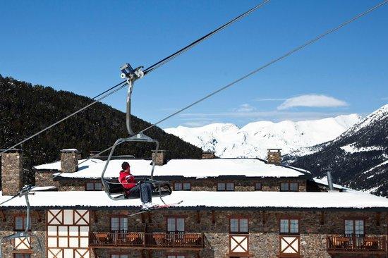 Grau Roig Andorra Boutique Hotel & Spa: Telesilla