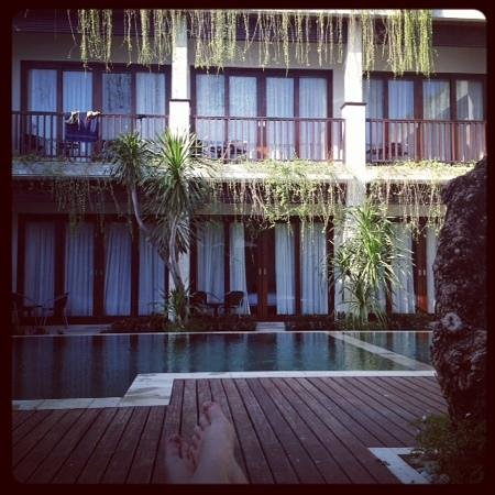 The Griya Sanur: view of pool