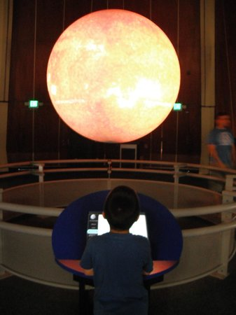 Lawrence Hall of Science: Star and Planet exhibit