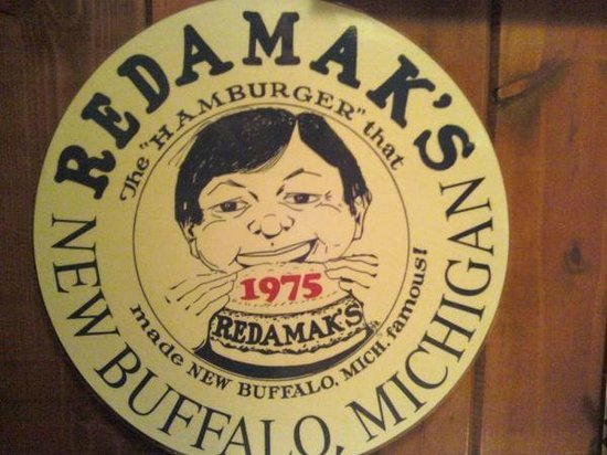 Redamak's Tavern: The Round Menu at Redamak's