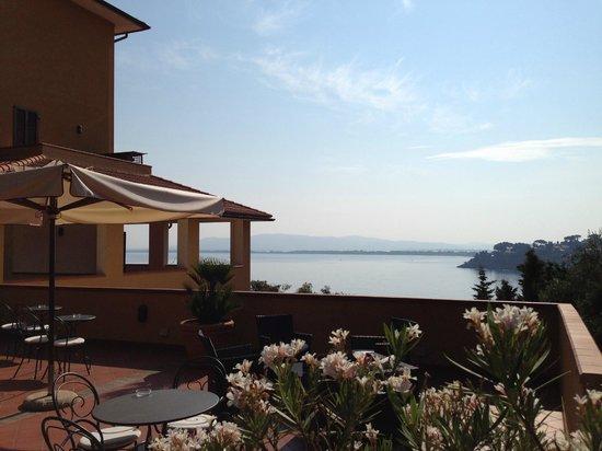 Hotel Filippo II: Lobby terrace