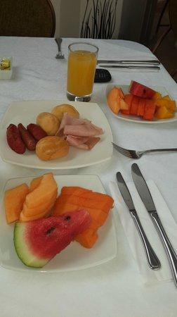 Dann Combeima Ibague : Desayuno delicioso...