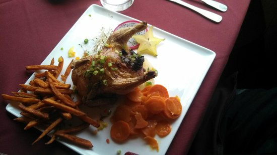 The Beal House : Cornish Game Hen