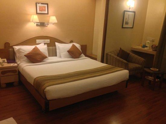 Park Central Comfort-e-suites: Bed Room