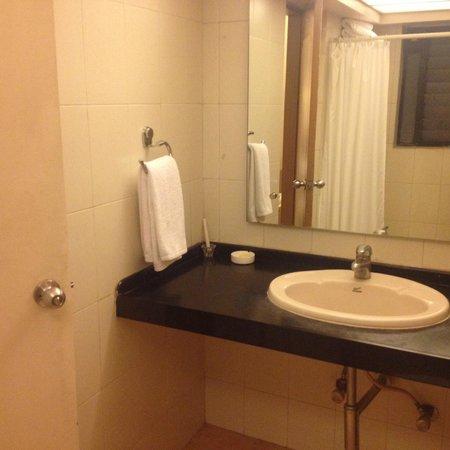 Park Central Comfort-e-suites : Wash Room