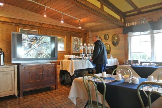 La Seigneurie des Monts : Salle de petit-déjeuner