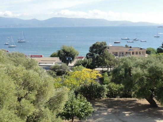Hôtel Les Eucalyptus : Vue depuis le balcon