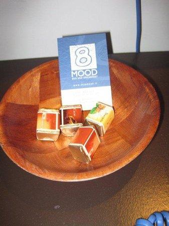 OttoMood B&B : Cioccolatini di Benvenuto