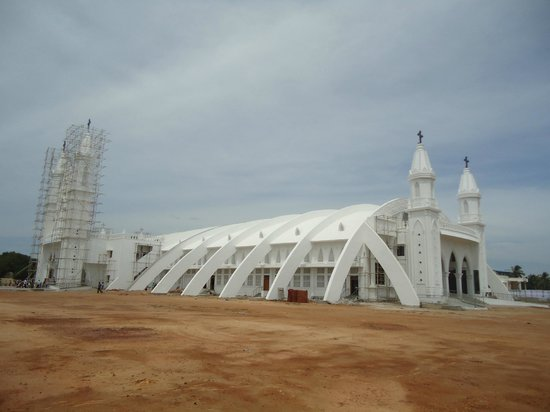 Velankanni, India: Morning Star Church(NEW Under construction)