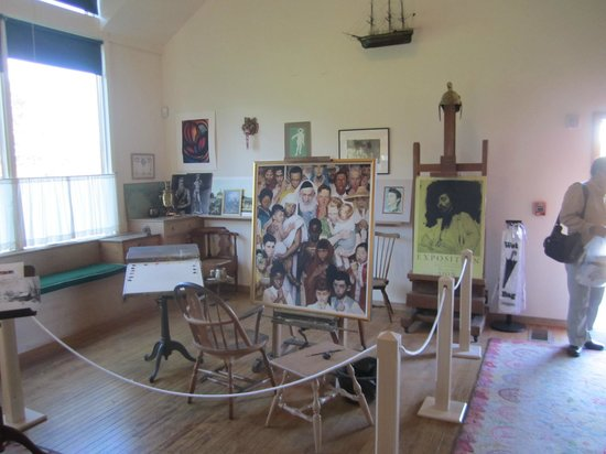a history of the norman rockwell museum at stockbridge The normal rockwell museum is a top berkshires attraction guests of the inn at stockbridge frequently visit.