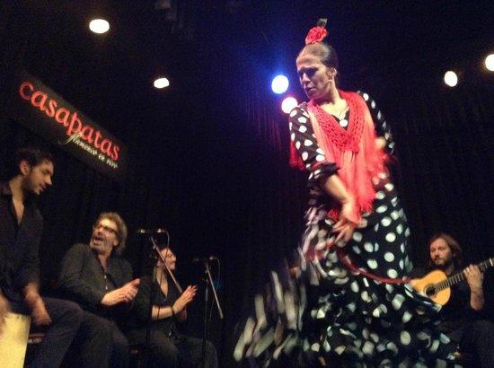 Flamenco dancer foto di casa patas madrid tripadvisor - Casa patas flamenco ...