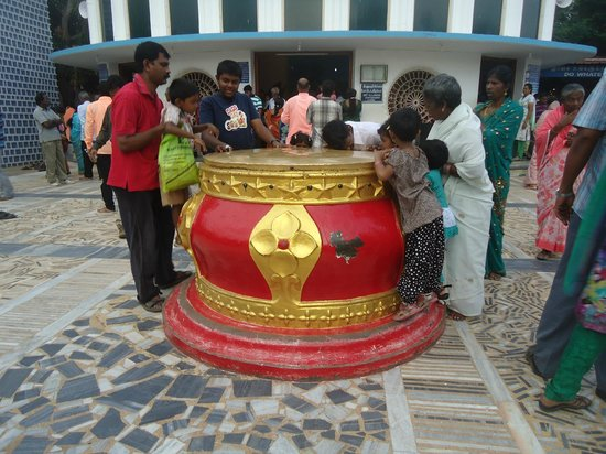 Church of our Lady of Velankanni: Holy tank