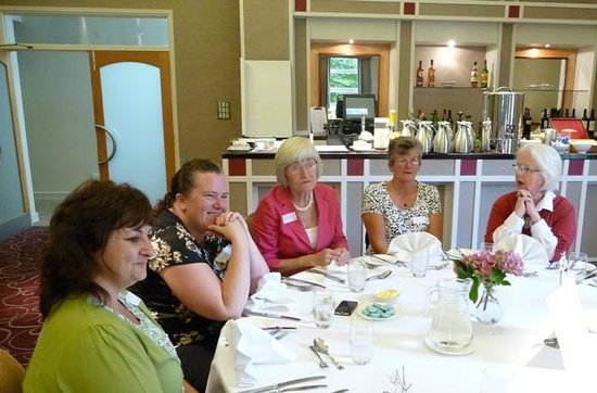 Sedgebrook Hall: Members at lunch