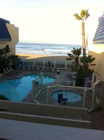 Blue Sea Beach Hotel: Beautiful Pacific Ocean view