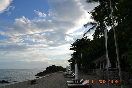 La Luz Beach Resort & Spa : Beach front