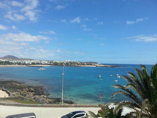View from rear of our room picture of apartamentos galeon playa costa teguise tripadvisor - Tripadvisor apartamentos ...