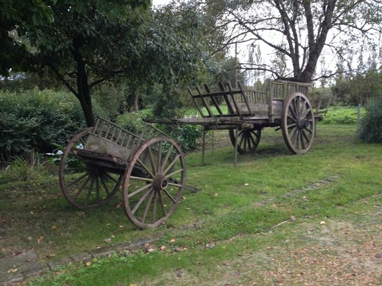 Le Moulin Bregeon: Wooden Wagons