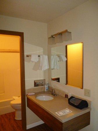 Al's Westward Ho Motel : salle de bains