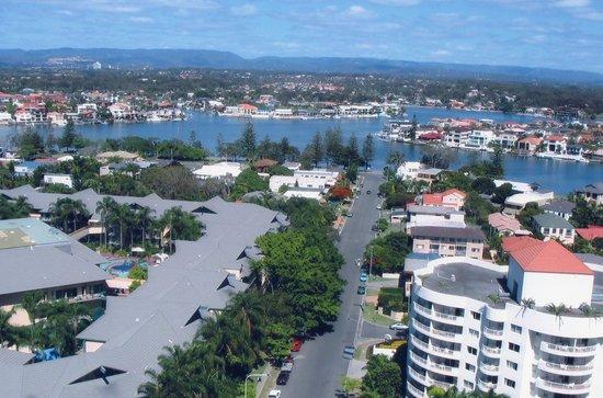Mantra Sun City: Balcony View