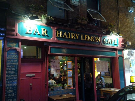 Hairy lemon pub dublin