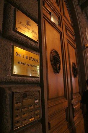 Residenza Giotto: Entrada do Hotel