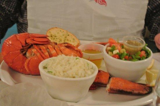 Restaurant du Quai: Le homard (froid) excellent