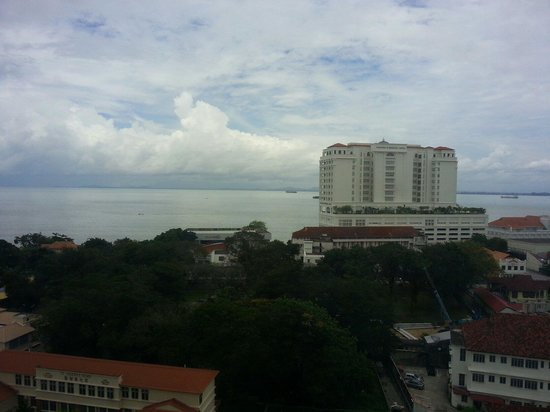 Cititel Penang: Beautiful view from the 10th flr