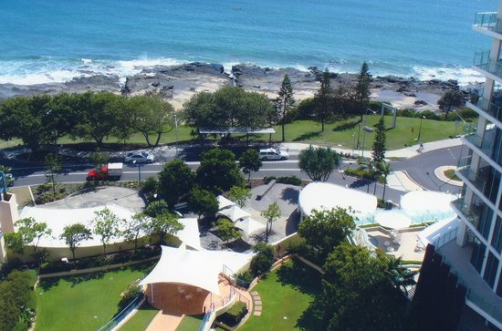Mantra Mooloolaba Beach Resort: Hotel Grounds