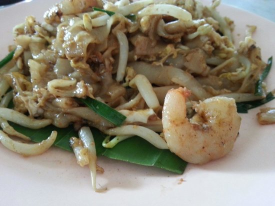 Cititel Penang: Char koay teow from the 1st coffee shop on the right of hotel, facing main penang road