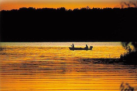 Samara Point Resort on Gull Lake: Great fishing at Samara Point Resort