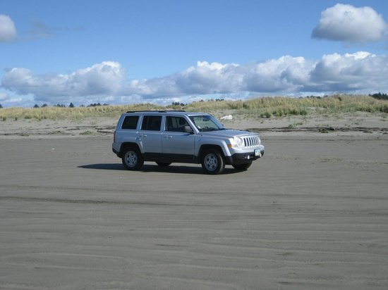 Quinault Beach Resort and Casino: drive-on beach