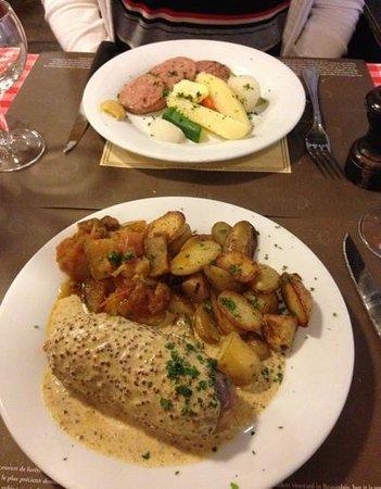 Bouchon Comptoir Brunet: main courses