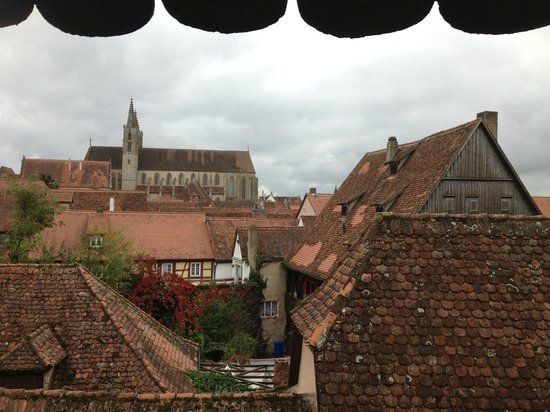 Pension Elke: View from town walls