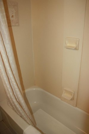 Best Western Bennington: Excellent power shower.
