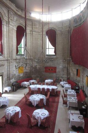 Hotel de Bourbon - Mercure de Bourges : la salle de restaurant