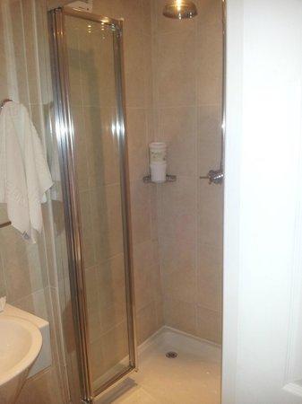 The Pheasant Inn: shower