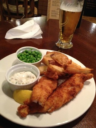 Dreadnought Hotel: Nice fish