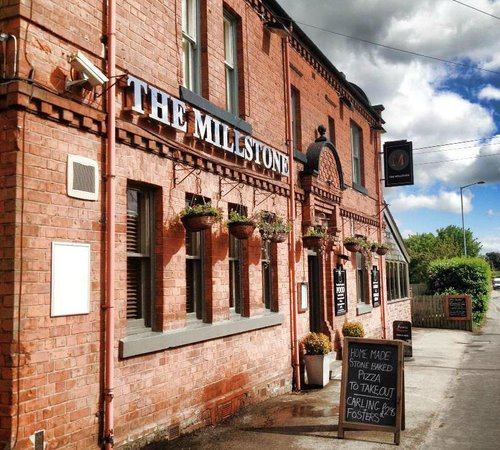 The Millstone: Outside front