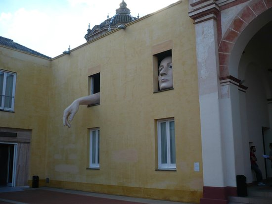 Andalusian Center for Contemporary Art : Art installation at the exit