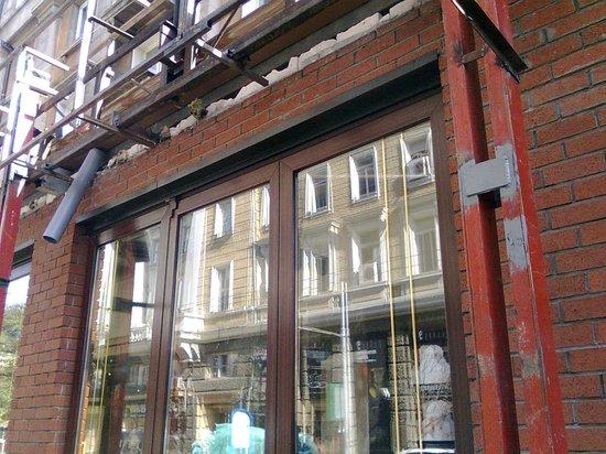 Happy Bar & Grill Rakovski: Closed for work, October 2013