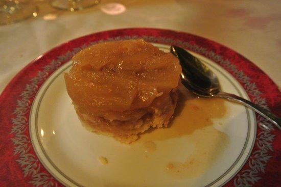 Restaurant la bolee : Tarte tatin