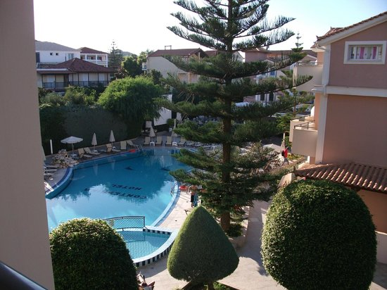 Contessina Hotel: view from room 608