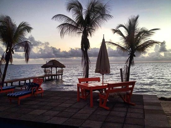 Nautical Inn: The view from the pool